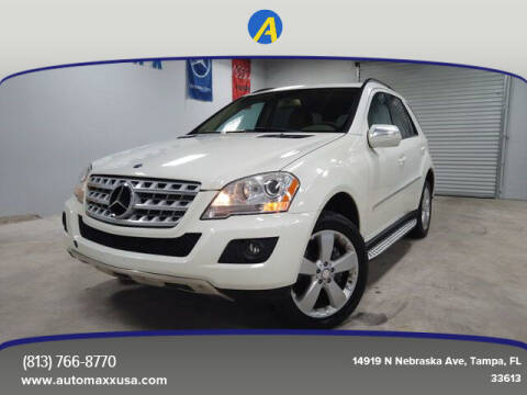 2009 Mercedes-Benz M-Class for sale at Automaxx in Tampa FL