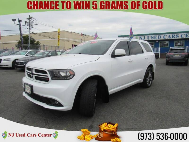2017 Dodge Durango for sale at New Jersey Used Cars Center in Irvington NJ