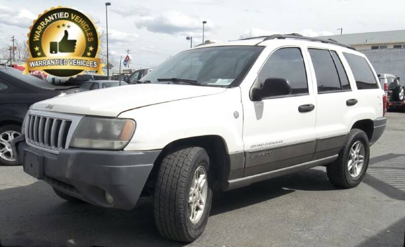 2004 Jeep Grand Cherokee for sale at Central Denver Auto Sales in Englewood CO