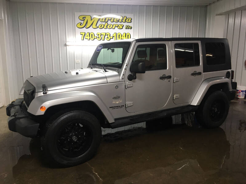 2008 Jeep Wrangler Unlimited for sale at MARIETTA MOTORS LLC in Marietta OH