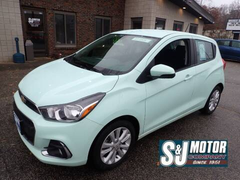 2017 Chevrolet Spark for sale at S & J Motor Co Inc. in Merrimack NH