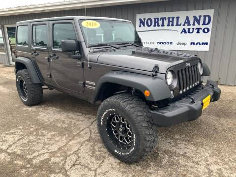 2018 Jeep Wrangler JK Unlimited for sale at Northland Auto in Humboldt IA