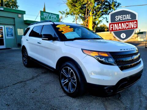 2014 Ford Explorer for sale at Stark Auto Sales in Modesto CA