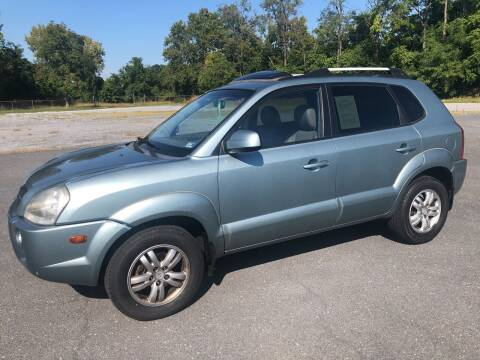 2007 Hyundai Tucson for sale at Augusta Auto Sales in Waynesboro VA