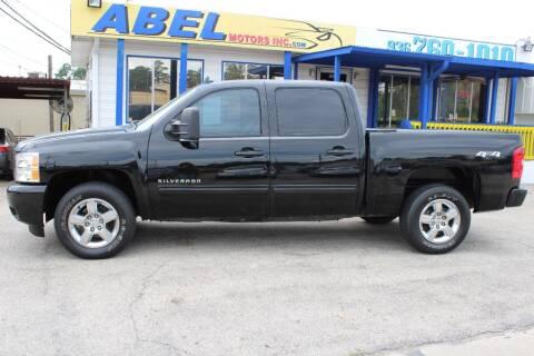 2012 Chevrolet Silverado 1500 for sale at Abel Motors, Inc. in Conroe TX