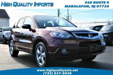 2009 Acura RDX for sale at High Quality Imports in Manalapan NJ