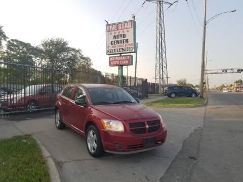 2008 Dodge Caliber for sale at Five Star Auto Center in Detroit MI