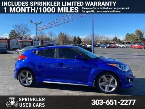2014 Hyundai Veloster for sale at Sprinkler Used Cars in Longmont CO