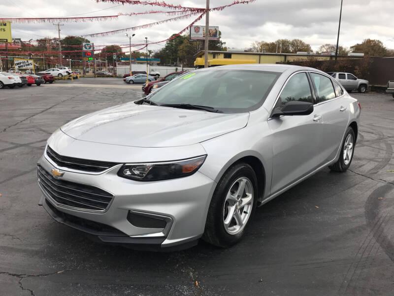 2018 Chevrolet Malibu for sale at IMPALA MOTORS in Memphis TN
