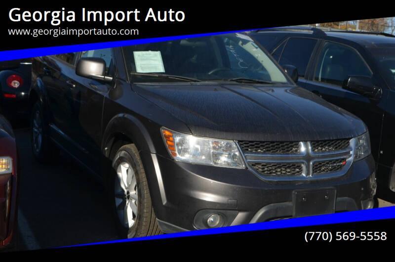 2016 Dodge Journey for sale at Georgia Import Auto in Alpharetta GA