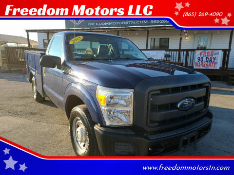 2012 Ford F-250 Super Duty for sale at Freedom Motors LLC in Knoxville TN