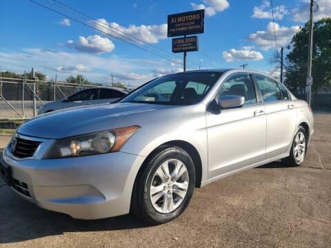 2008 Honda Accord for sale at AI MOTORS LLC in Killeen TX