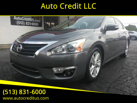 2015 Nissan Altima for sale at Auto Credit LLC in Milford OH