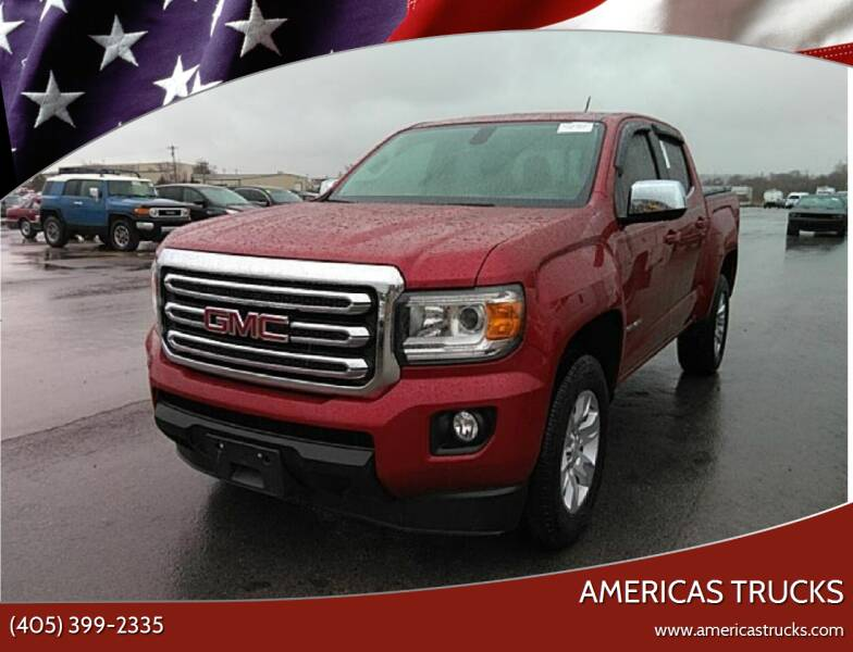 2018 GMC Canyon for sale at Americas Trucks in Jones OK