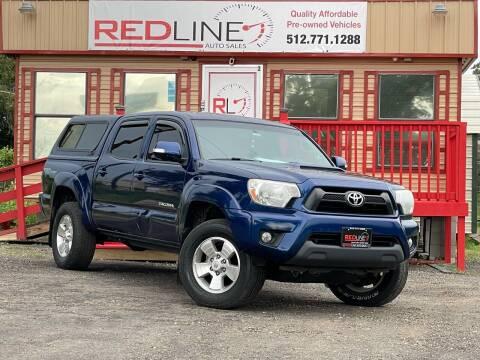 2014 Toyota Tacoma for sale at REDLINE AUTO SALES LLC in Cedar Creek TX