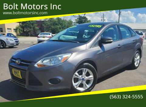 2013 Ford Focus for sale at Bolt Motors Inc in Davenport IA