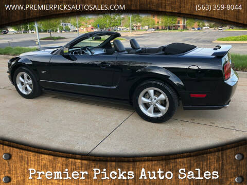 2008 Ford Mustang for sale at Premier Picks Auto Sales in Bettendorf IA
