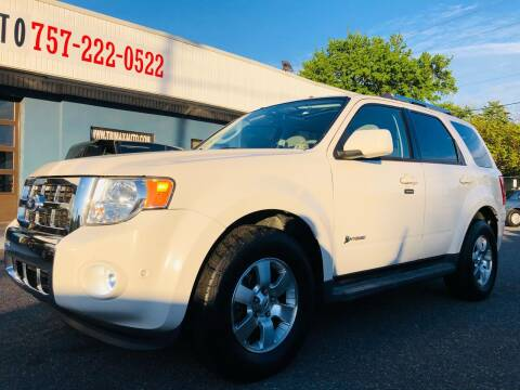 2010 Ford Escape Hybrid for sale at Trimax Auto Group in Norfolk VA