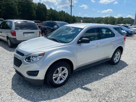 2017 Chevrolet Equinox for sale at Billy Ballew Motorsports in Dawsonville GA