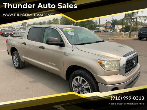 2008 Toyota Tundra for sale at Thunder Auto Sales in Sacramento CA