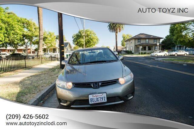 2007 Honda Civic for sale at Auto Toyz Inc in Lodi CA
