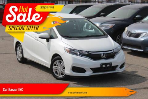 2019 Honda Fit for sale at Car Bazaar INC in Salt Lake City UT