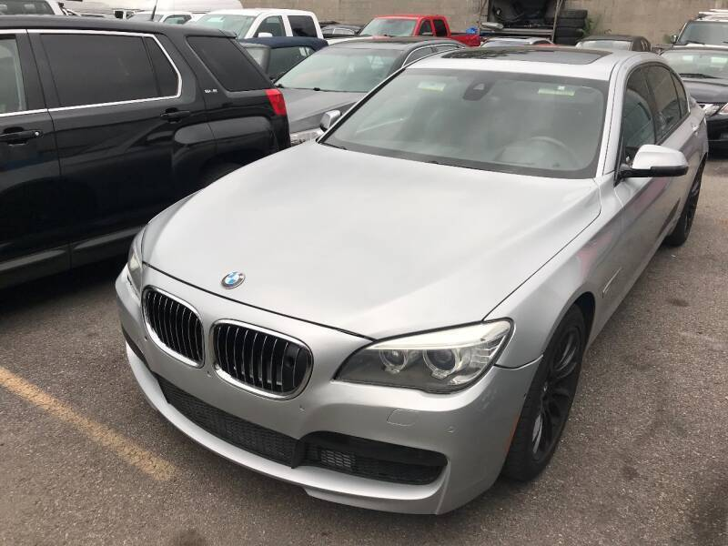 2013 BMW 7 Series for sale at Ultimate Motors in Port Monmouth NJ