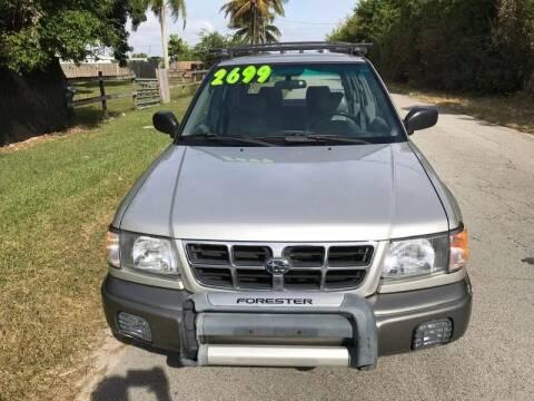 2000 Subaru Forester for sale at LA Motors Miami in Miami FL