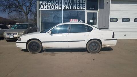 2004 Chevrolet Impala for sale at STERLING MOTORS in Watertown SD