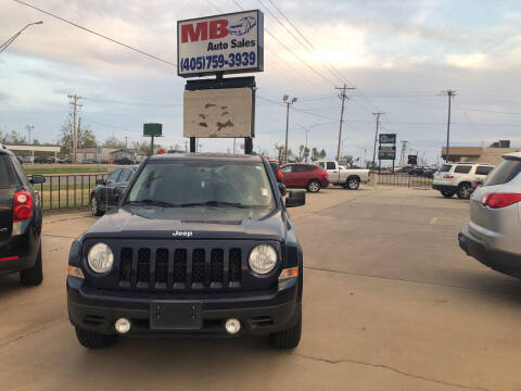 2013 Jeep Patriot for sale at MB Auto Sales in Oklahoma City OK