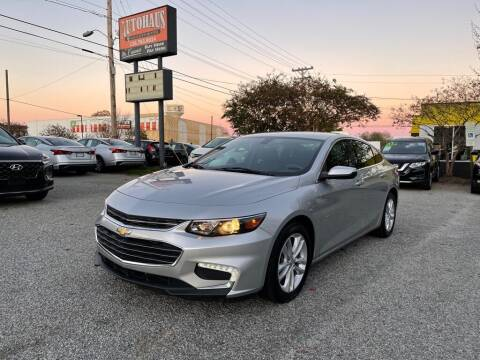 2018 Chevrolet Malibu for sale at Autohaus of Greensboro in Greensboro NC