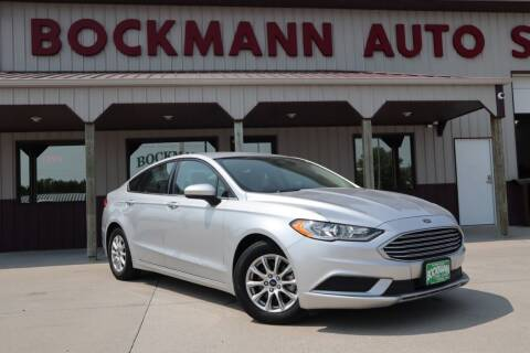 2018 Ford Fusion for sale at Bockmann Auto Sales in St. Paul NE