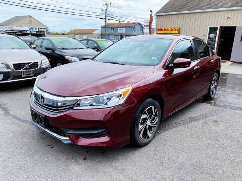 2017 Honda Accord for sale at Dijie Auto Sale and Service Co. in Johnston RI