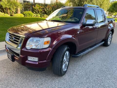 2008 Ford Explorer Sport Trac for sale at Donada  Group Inc in Arleta CA