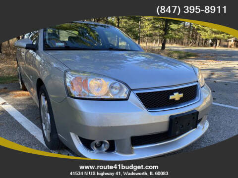 2007 Chevrolet Malibu for sale at Route 41 Budget Auto in Wadsworth IL