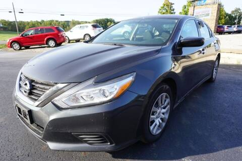2017 Nissan Altima for sale at MyEzAutoBroker.com in Mount Vernon OH