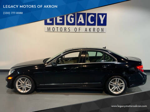 2014 Mercedes-Benz C-Class for sale at LEGACY MOTORS OF AKRON in Akron OH