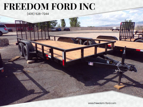 2021 FF OFFROAD 7x16 Tandem Axle for sale at Freedom Ford Inc in Gunnison UT