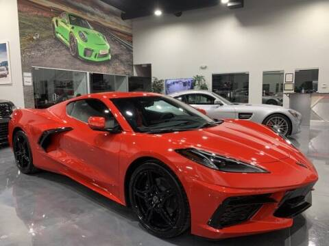 2020 Chevrolet Corvette for sale at Godspeed Motors in Charlotte NC