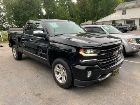 2016 Chevrolet Silverado 1500 for sale at Bladecki Auto LLC in Belmont NH