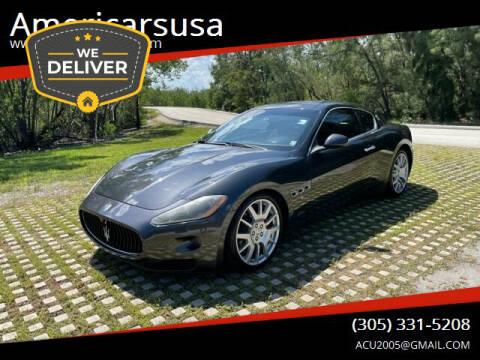 2008 Maserati GranTurismo for sale at Americarsusa in Hollywood FL