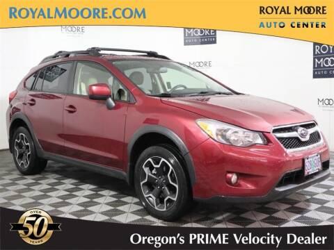 2014 Subaru XV Crosstrek for sale at Royal Moore Custom Finance in Hillsboro OR