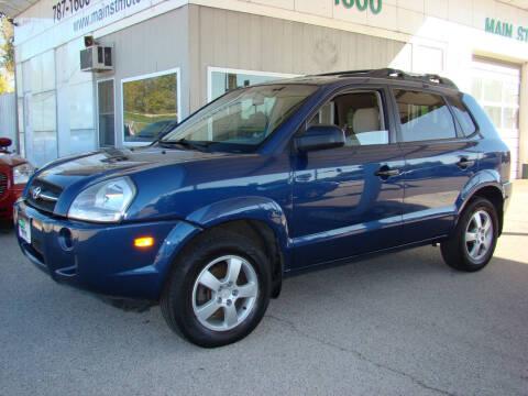 2006 Hyundai Tucson for sale at Main Street Motors Inc. in Milan IL