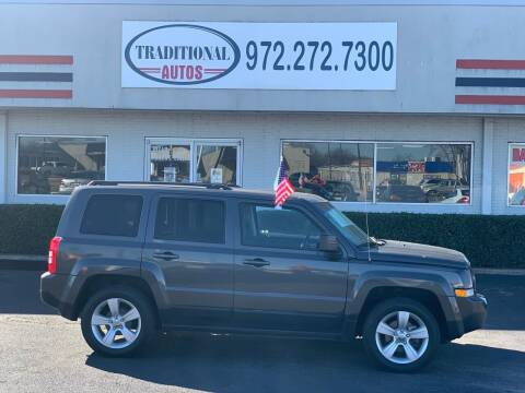 2016 Jeep Patriot for sale at Traditional Autos in Dallas TX