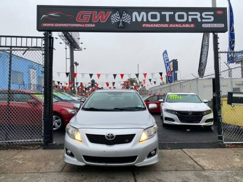 2010 Toyota Corolla for sale at GW MOTORS in Newark NJ