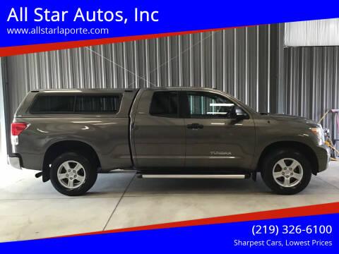 2012 Toyota Tundra for sale at All Star Autos, Inc in La Porte IN