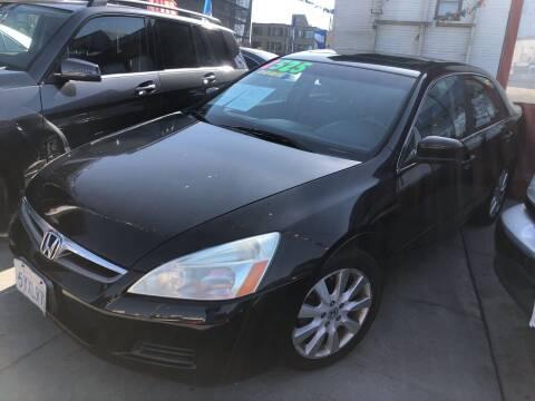 2007 Honda Accord for sale at Excelsior Motors , Inc in San Francisco CA