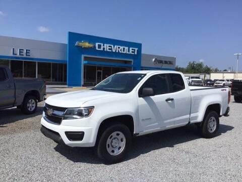 2019 Chevrolet Colorado for sale at LEE CHEVROLET PONTIAC BUICK in Washington NC