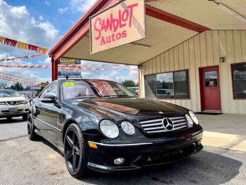 2006 Mercedes-Benz CL-Class for sale at Sandlot Autos in Tyler TX