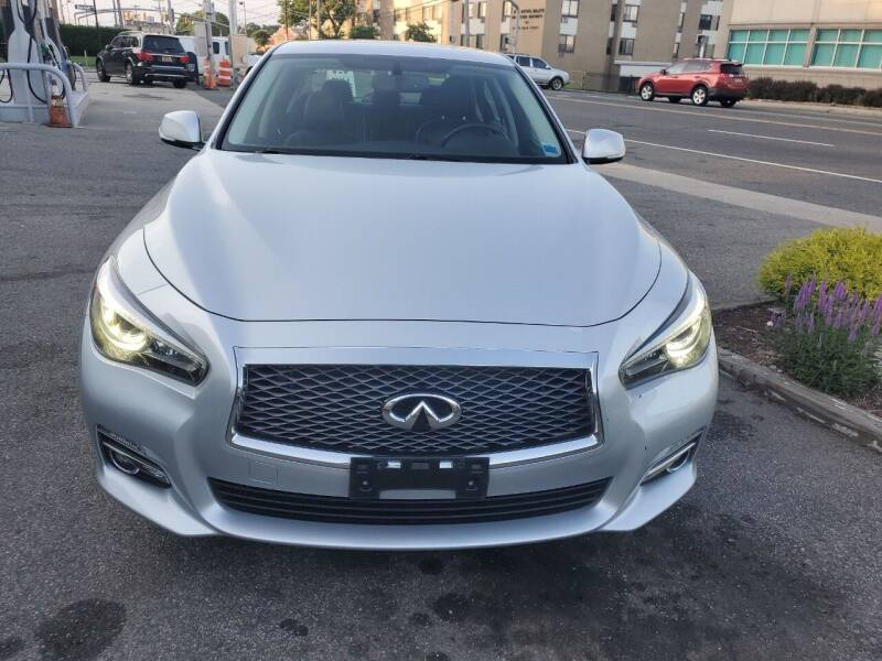 2015 Infiniti Q50 for sale at OFIER AUTO SALES in Freeport NY